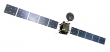 Artist's impression of the Rosetta orbiter. Credit: ESA/ATG medialab